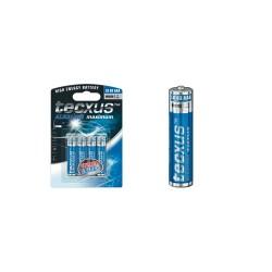 Set 4 baterii alcaline, 1,5V, AAA Sal Home TC LR03