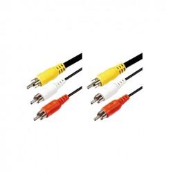 Cablu 3m, 3xRCA-3xRCA  Sal Home A 4-3