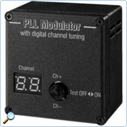 Modulator video TV Monacor PLL-1