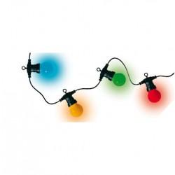 Ghirlanda LED-uri exterior 30 globuri 14,5m color Sal LPL 30