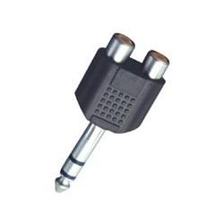 Adaptor jack stereo 6,3 mm tata - 2 x RCA mama Sal Home AC 27