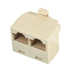 Distribuitor telefon, 8P8C, 1t-2m,bej Sal Home TT 18-2