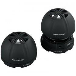 Mini-boxe active Monacor SP-2/SW