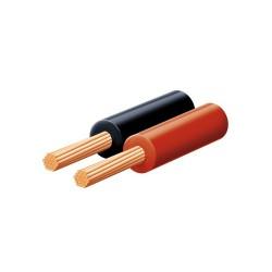 Cablu audio rosu-negru 2x0,15 Sal Home KL 0,15