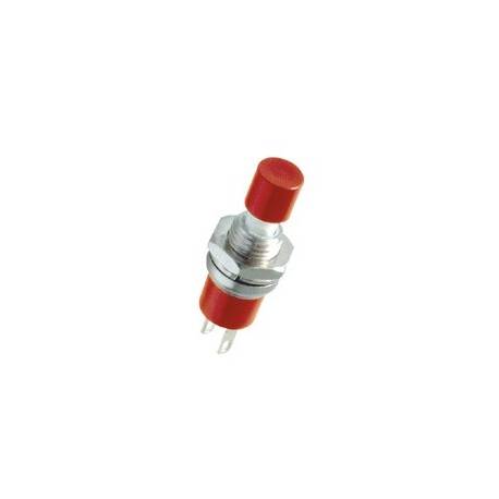 Buton intrerupator mini, 1 circuit, rosu Sal Home SP 02/RD