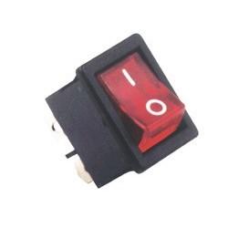 Comutator, 250V, 2circ, bec rosu Sal Home STV 05