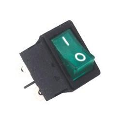 Comutator basculant cu bec, verde Sal Home STV 06