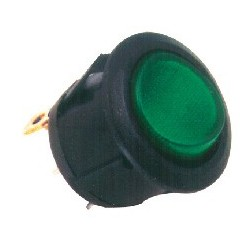 Comutator basculant cu bec, verde Sal Home STV 08