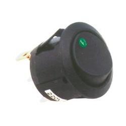 Comutator, 250V, cu bec, verde Sal Home STV 12