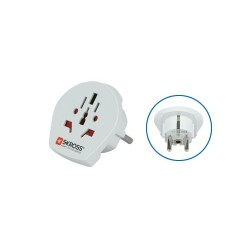 "Adaptor pentru calatorii ""World to Europe"" Sal Home 1.500211"