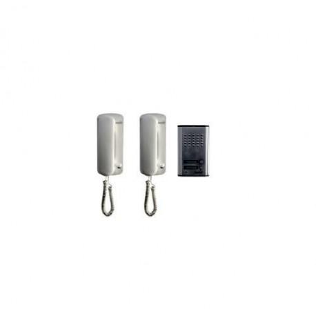 Interfon de poarta cu fir Sal Home DP 012 , 2 unitati interioare
