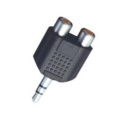 Adaptor jack stereo 3,5 mm tata – 2 x RCA mama Sal Home AC 17X