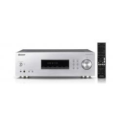 Receiver stereo 200W cu tuner FM/AM si Phono MM Input, argintiu, Pioneer SX-20-S