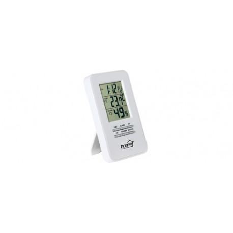 Termometru si higrometru cu ceas, Sal Home HC 13
