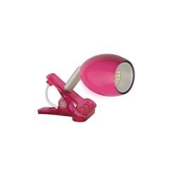 Spot LED integrat, cu clema, roz, Sal Home 7015H