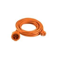 Prelungitor cu izolatie dubla, 20m, 2x1,0 mm2, portocaliu, Sal Home NV 4-20/OR