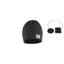 Caciula cu bluetooth, neagra, Sal Home BTH 031/BK