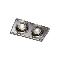 Lampa SAPHIRE, incastrata, cromata, 2x50W, 230V, Sal Home 595621110