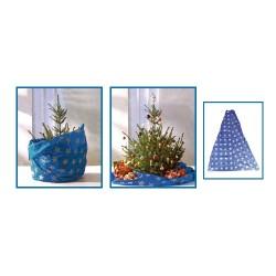 Patura pentru brad, 3in1 (protectie pardoseala, ambalaj, material pentru transport), Sal Home KT 250/BL
