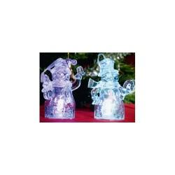 Set decoratiuni, candele cu LED, Sal Home CDM 2/T