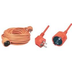 Prelungitor retea 20m, portocaliu, Sal Home NV 2-20/O
