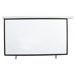 Ecran de proiectie cu motor pentru videoproiector (16:9) 2400x1350 cm, Eurolite 80901160