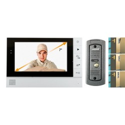 "Video-interfon 7"", color, metalic, pentru exterior, Sal Home DPV 25"